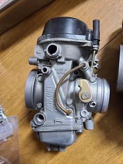 GSX-R1100W carburetor #1