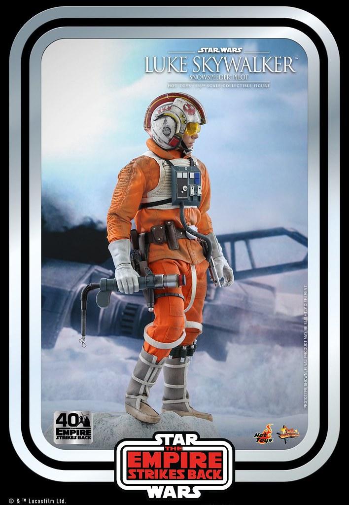 Hot Toys《帝國大反擊》路克·天行者(雪地戰機駕駛員服)1/6 比例人偶