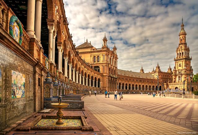 Plaza de España (Sevilla - Andalucía)