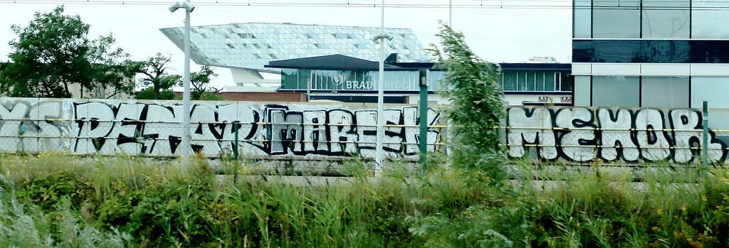 Graffiti in Antwerpen
