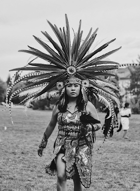 Indigenous Native Danza