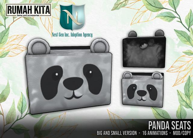 Rumah Kita X Next Gen Inc - Panda Seats