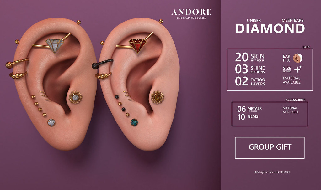 :ANDORE: NEW EXCLUSIVE Group Gift