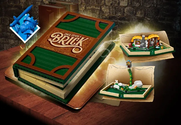 LEGO VIP Retired Pop Book