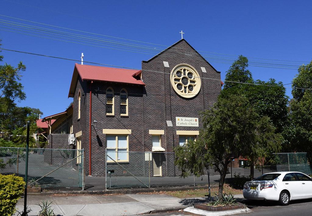 St Joseph's Catholic Church, Roseberry, Sydney, NSW.