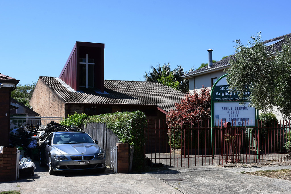 St Anglican Church, Eastlakes, Sydney, NSW.