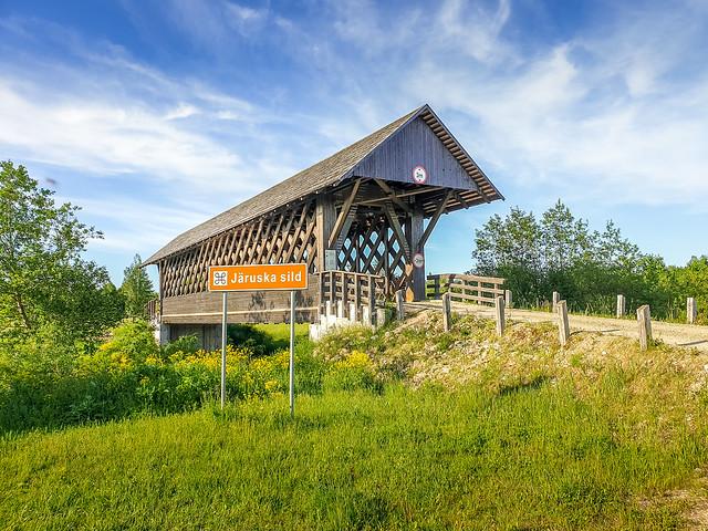Järuska wooden bridge, ESTONIA