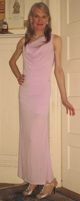 A lavender gown for feeling glamorous