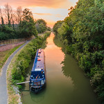 Kennet and Avon Canal in Devizes