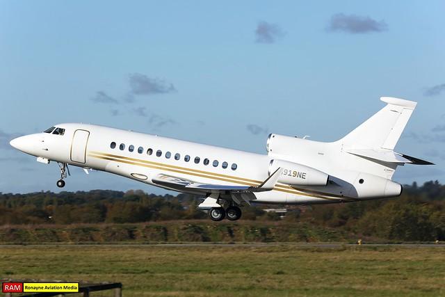 N919NE | Dassault Falcon 7X | Planet Nine Private Air