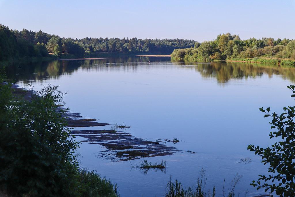 Нёман недалеко от г.Берёзовка