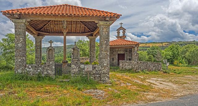 Conjunto religioso de Marrubio, Montederramo (Ourense)
