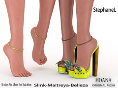 [StephaneL] MOANA SHOES-ANKLET-RING FATPACK