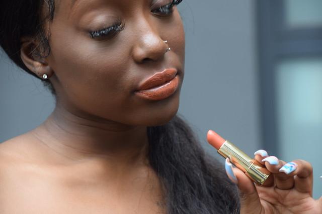 DSC_5747 Sindy London Lipstick Models West African Model Portrait Shoreditch Studio Outdoors