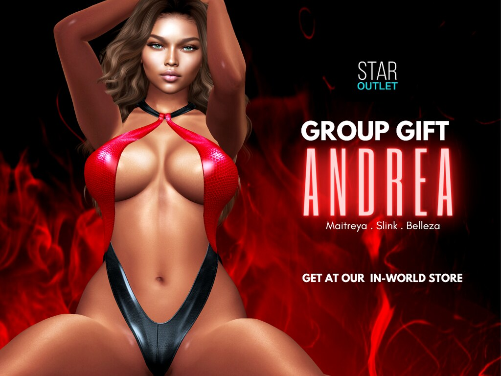 Sexy NEW Group Gift – Red Leather Swimsuit (For Aug 2020)