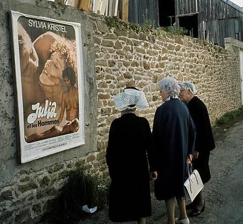 la France des 30 Glorieuses 1975 Concarneau .