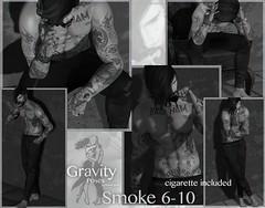 Gravity Poses - Smoke 6-10