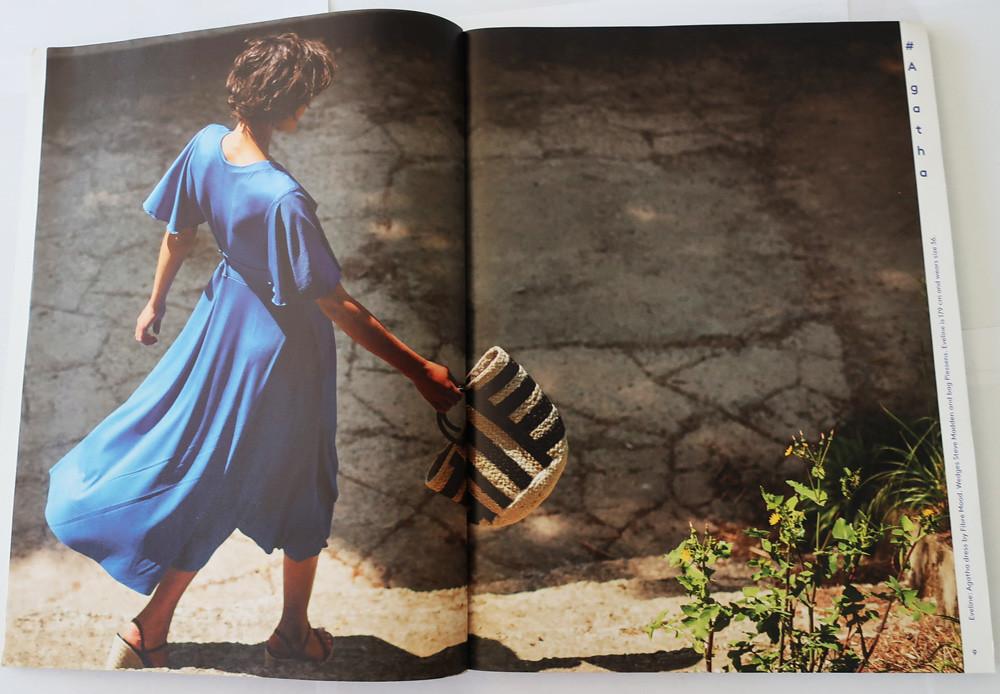 Fibremood blue dress photo
