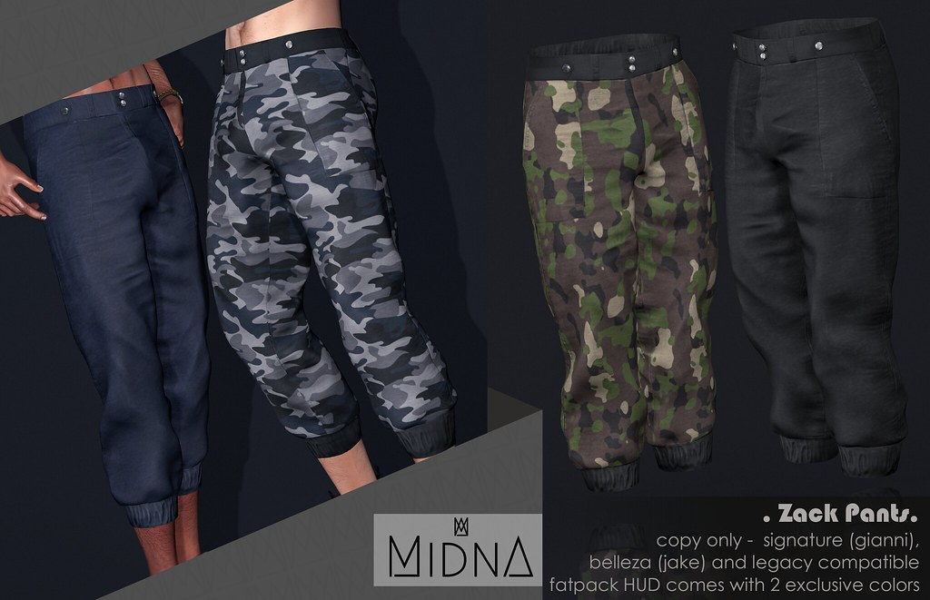 Midna - Zack Pants