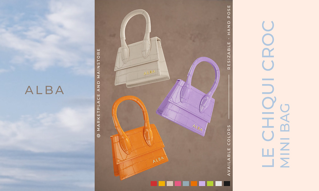 Introducing: ALBA – Le Chiqui Bag