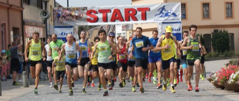 V Běhu na Svatý Hostýn musí atleti na pětikilometrové trati zdolat převýšení 422 metrů