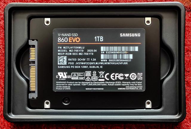 Samsung SSD EVO 1Tb.