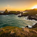 Sunset at Kynance Cove, Cornwall, South West England