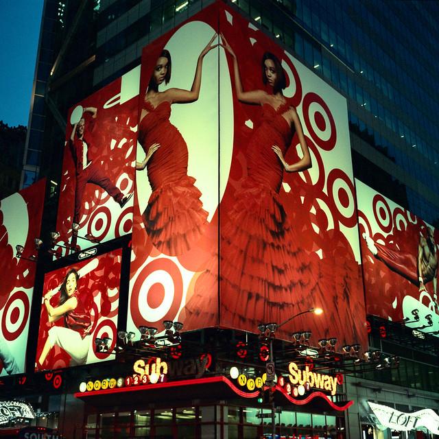 times square (xpro). new york, ny. 2008.