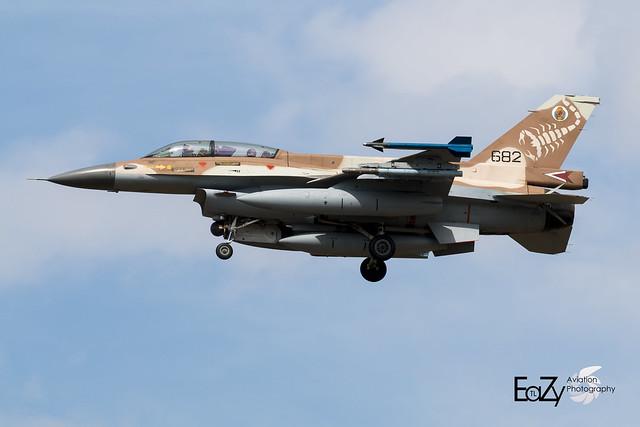 682 Israeli Air Force General Dynamics F-16D Fighting Falcon