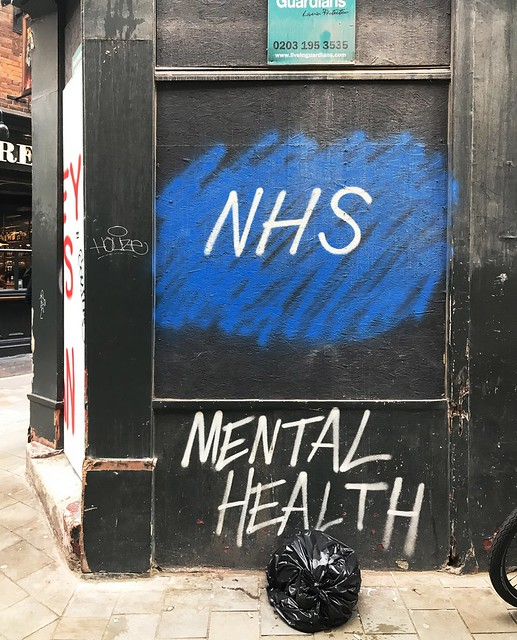 NHS Mental Health - Ben Wakeling, London 2019