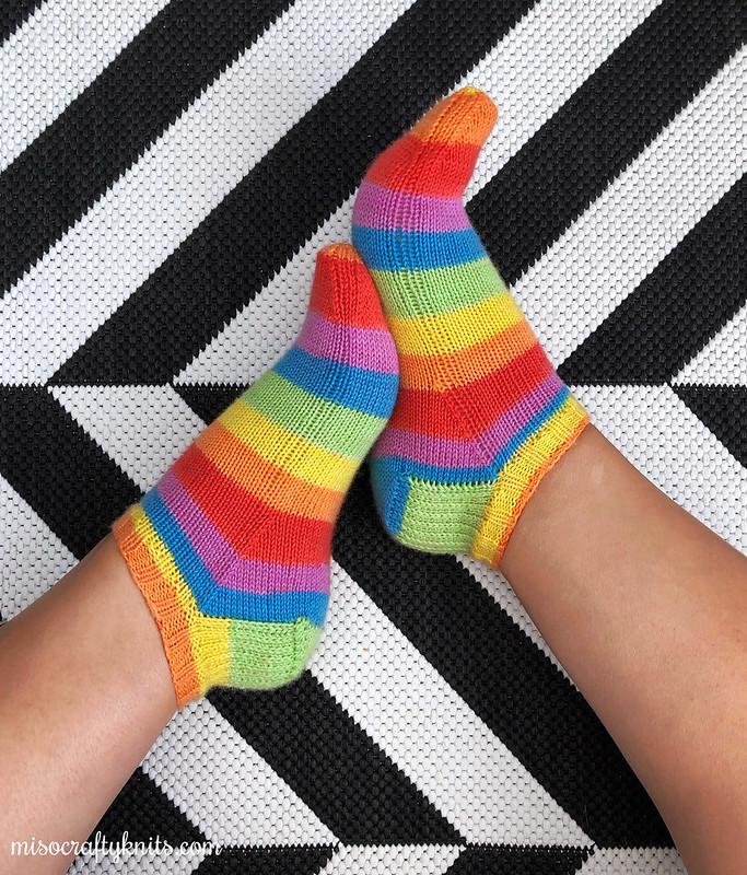 Pride Shortie Socks
