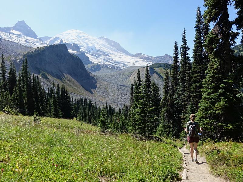 Summerland-Panhandle Gap Mt Rainier National Park - 45