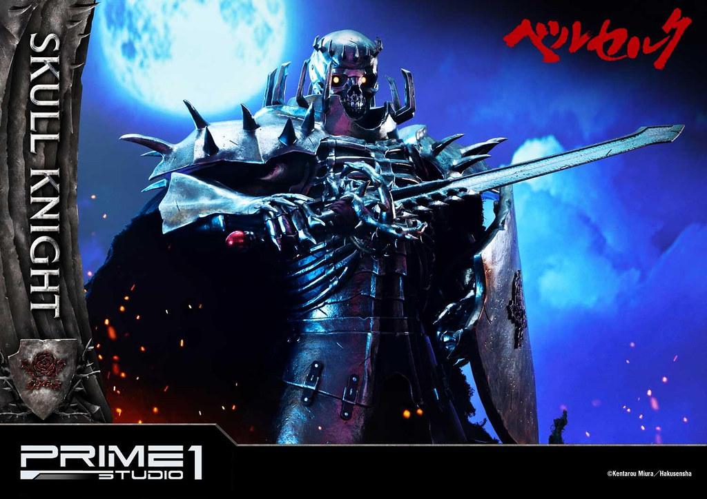 Prime 1 Studio《烙印勇士》骷髏騎士 EX版 1/4比例全身雕像