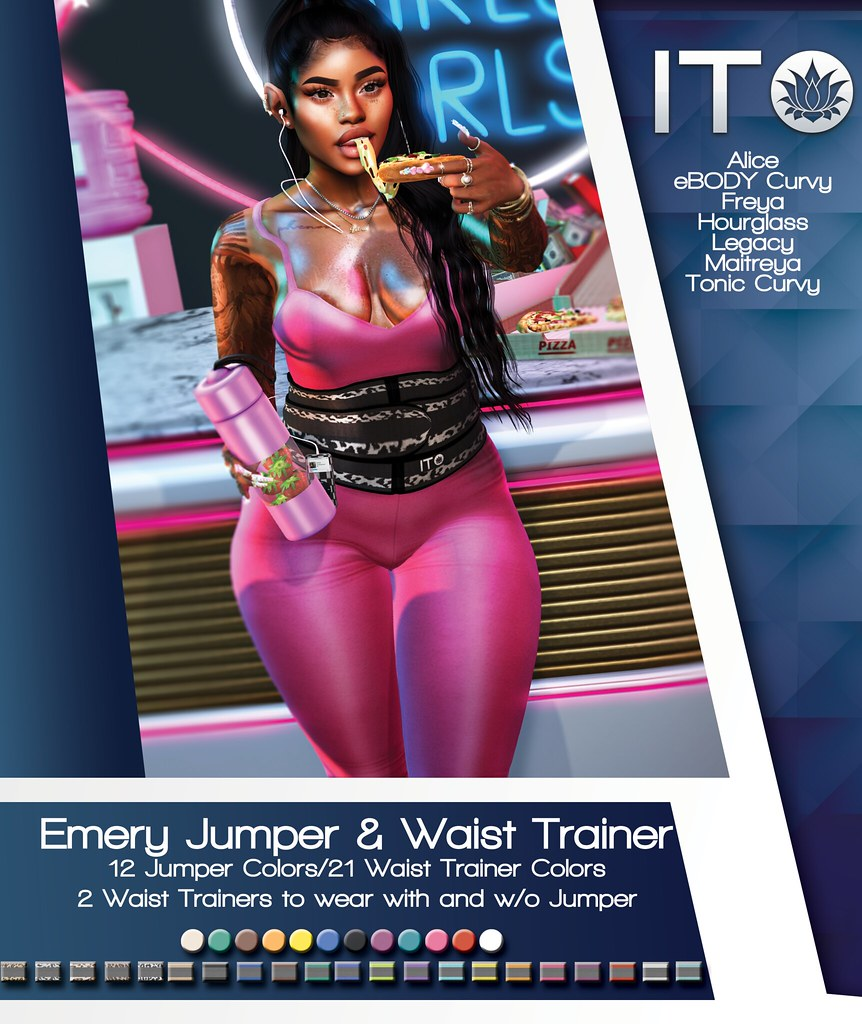 Ito Emery Jumpsuit with Waist Trainer AD