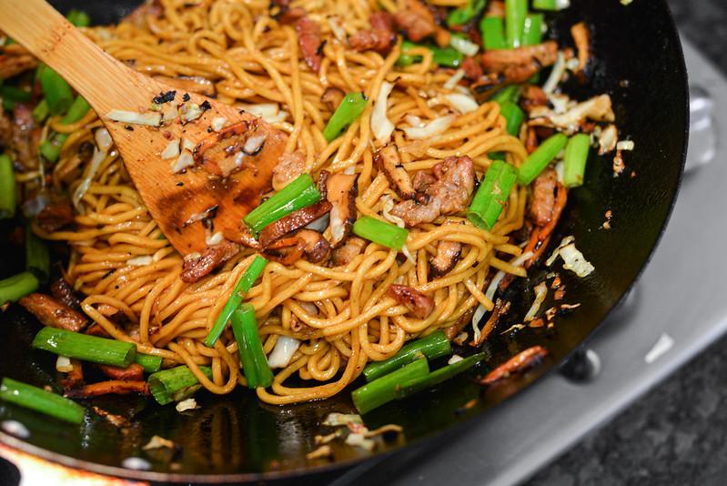 Grilled Roast Pork Lo Mein