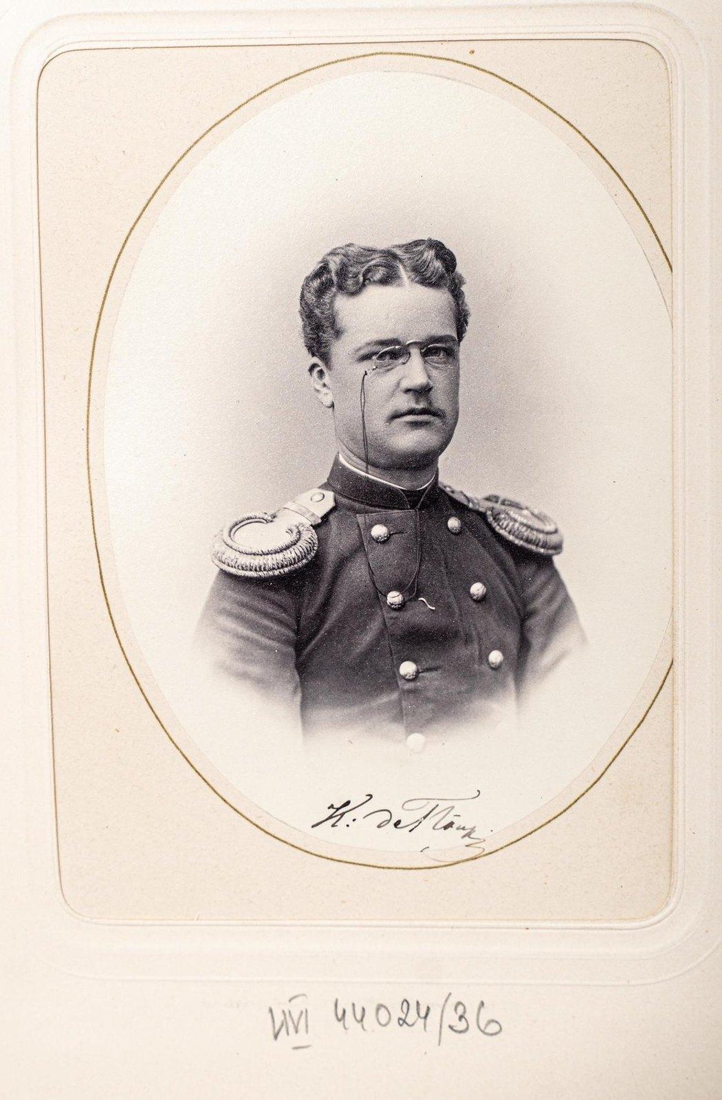 Неизвестный офицер Измайловского полка3
