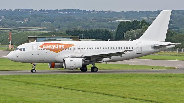 Airbus A319 -111 G-EZEN Easy Jet