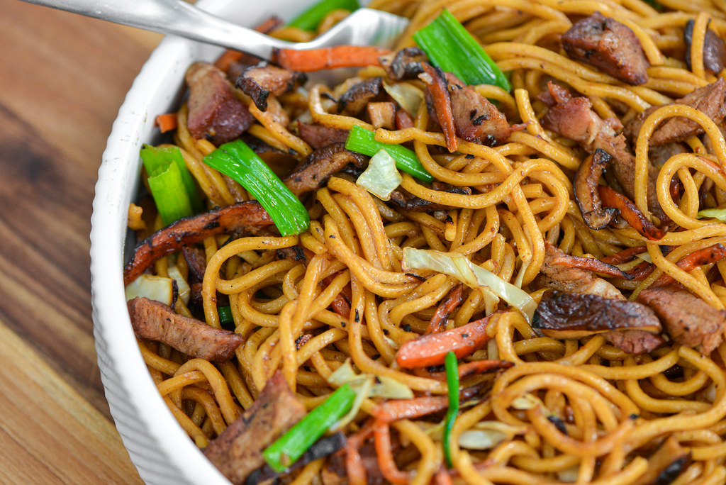 Grilled Lo Mein