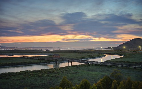 fremont california sanfranciscobay sanfranciscobayarea day dusk sunset bay water tree canal bridge outdoor donedwardssanfranciscobaynationalwildliferefuge donedwardsnationalwildliferefuge donedwards wildliferefuge sony sonya7 a7 a7ii a7mii alpha7mii ilce7m2 fullframe fe2870mmf3556oss 4xp raw photomatix hdr qualityhdr qualityhdrphotography fav100