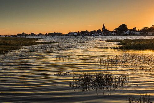 bosham sunset sussex england uk ripples hightide canon 80d sigma 1750mm