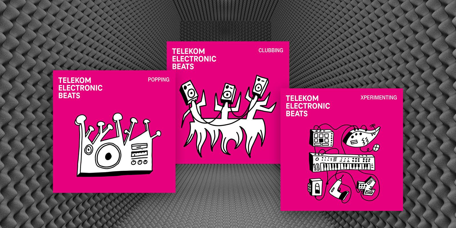 Megjelent a Telekom Electronic Beats tripla válogatása, rajta 30+1 izgalmas és új magyar zenével