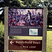 Cowpens Battlefield 2018, battlefield trail loop signage