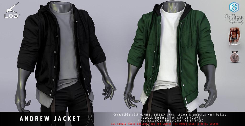 [LOB] ANDREW JACKET