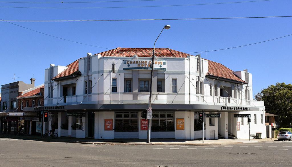 Charring Cross Hotel, Waverley, Sydney, NSW.