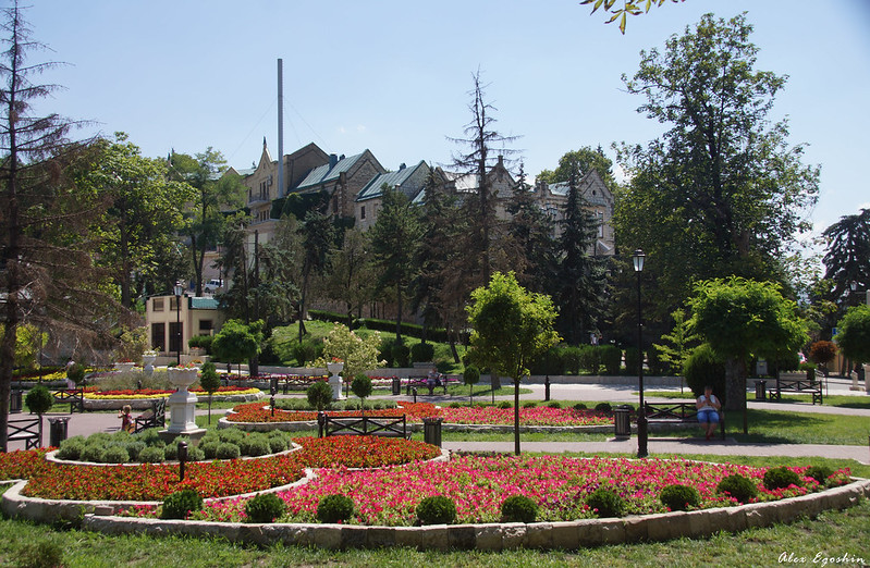 Парк Цветник в Пятигорске