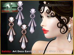 Bliensen - Gatsby - Art Deco Earrings