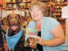 toby and charmaine at booksigning