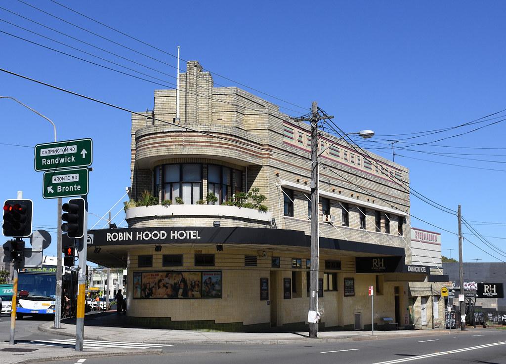Robin Hood Hotel, Waverley, Sydney, NSW.