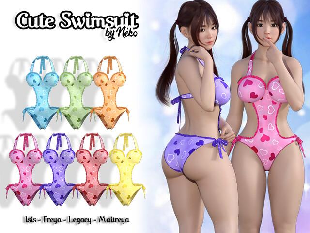 =NEKO= Cute Swimsuits