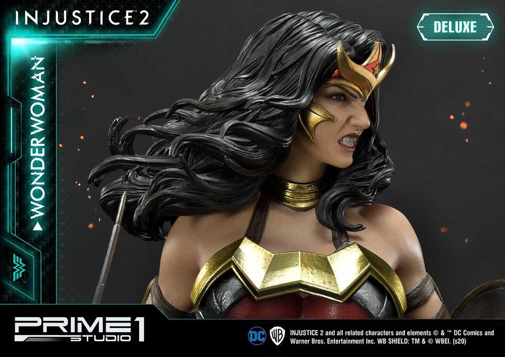 Prime 1 Studio《超級英雄:武力對決2》神力女超人 全身雕像